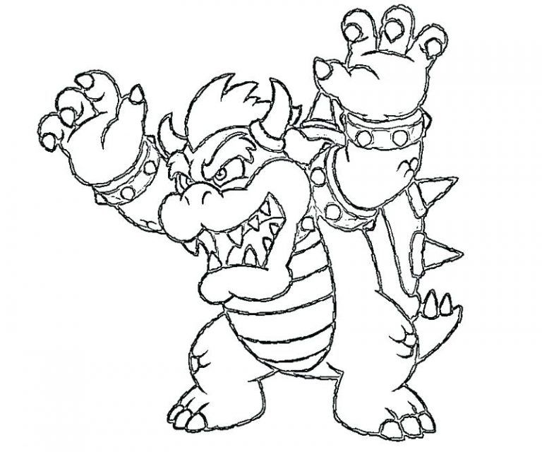 Bowser Coloring Pages Best Coloring Pages For Kids In 2020 Coloring Pages Coloring Pages For Kids Mario Coloring Pages