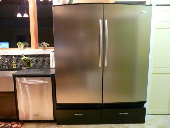 Whirlpool Sidekicks Fridge And Freezer Under Cabinet To Raise Height Clean Modern Under Cabinet Home Improvement