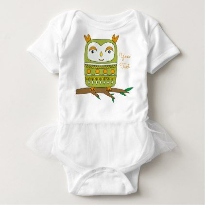 #cute #baby #bodysuits - #Cute Spring Owl Baby Jersey Bodysuit
