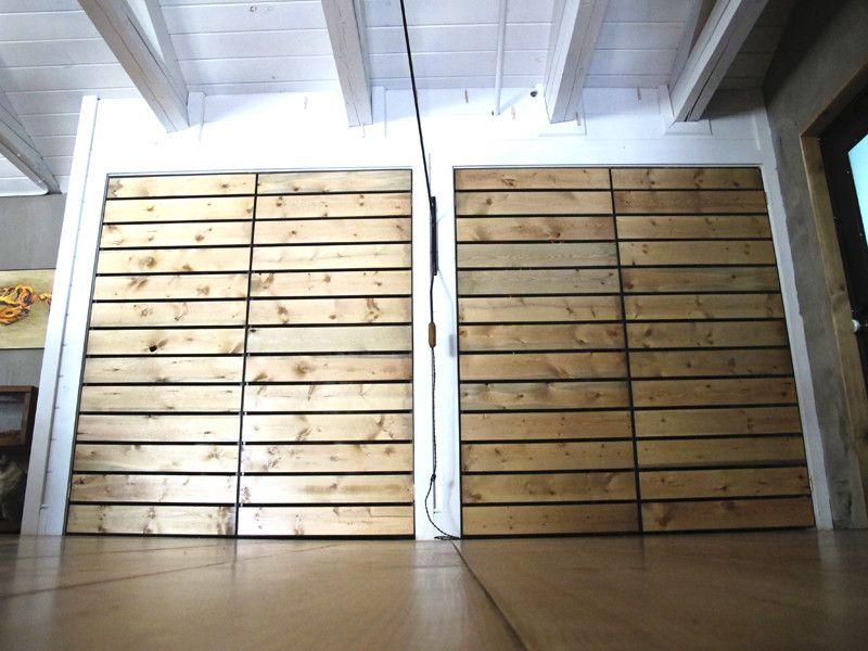 Steel-framed slatted closet doors & Steel-framed slatted closet doors | Closet doors Doors and Steel ... pezcame.com