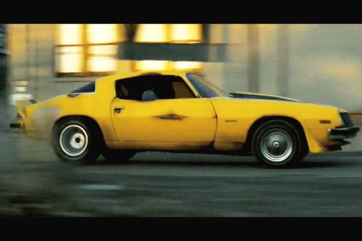 The 100 Greatest Movie and TV Cars of All Time  Chevrolet camaro