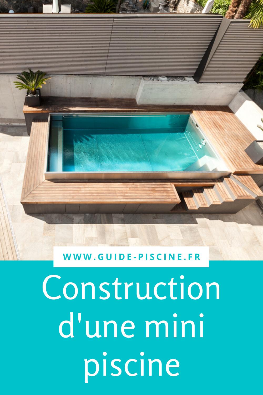 La mini-piscine : une petite piscine pour petits espaces – Guide-Piscine.fr