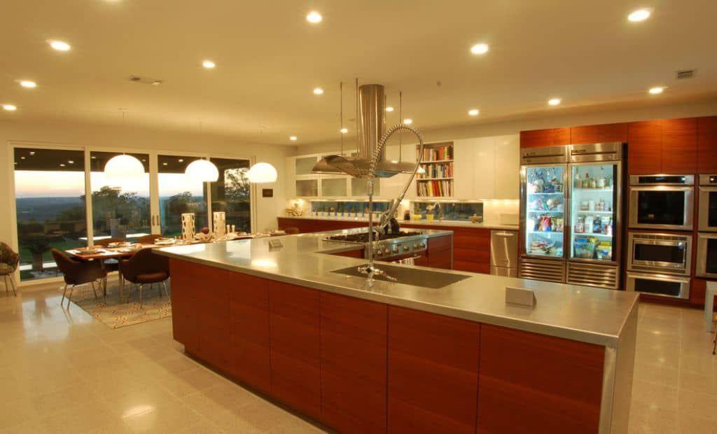 Küche Glas Tür Kühlschrank ein weiterer Vorteil Der Glas-Tür ...