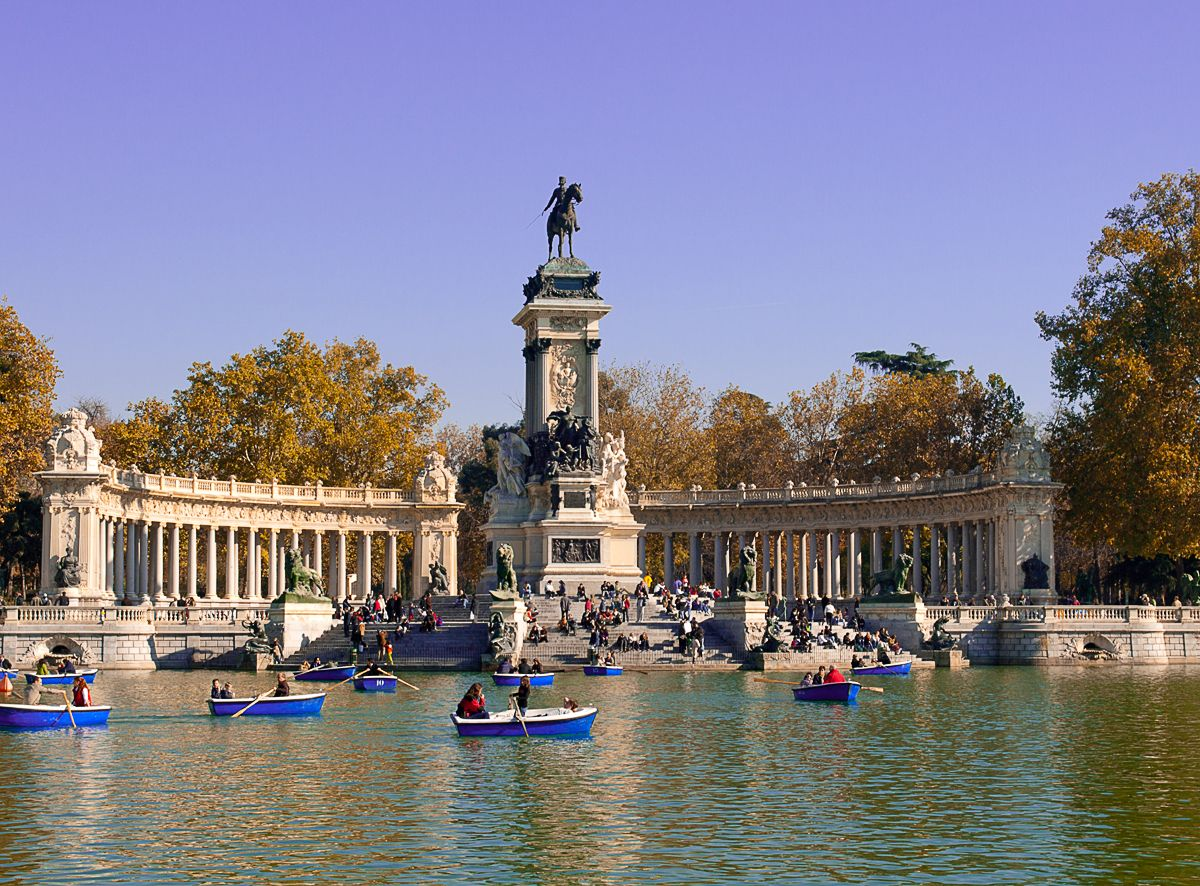 Buen Retiro Park Of Largest Parks