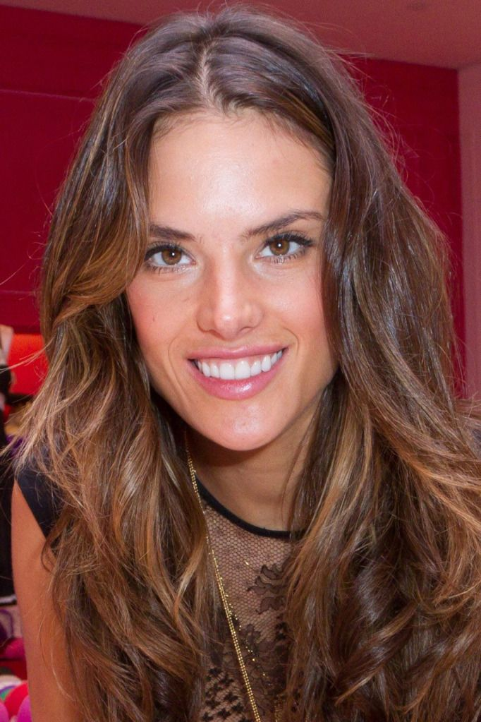 Alessandra Ambrosios Hair Color Hurr Down To Thurr Pinterest