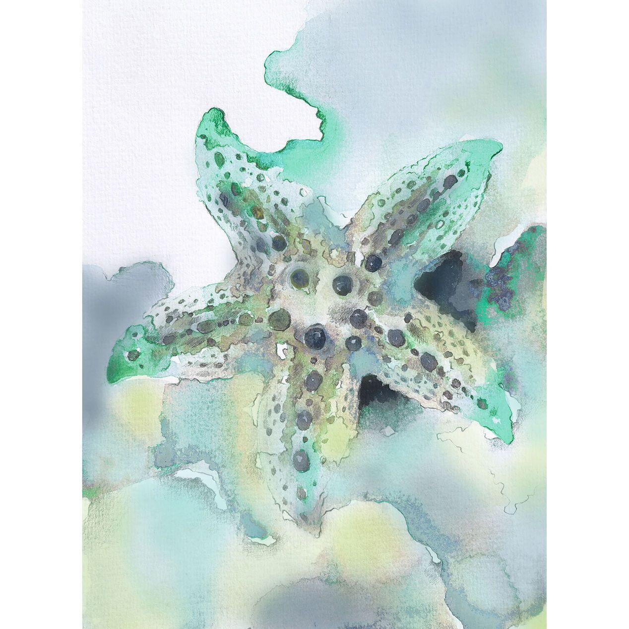 Starfish Outdoor Canvas Wall Art 20 X 24 At Home Outdoor Canvas Starfish Wall Art Canvas Wall Art