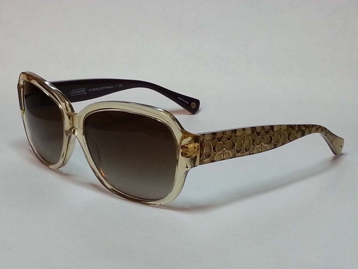 3b7c20b0212  Coach women sunglasses PAMELA gold sand colors black lens visit our ebay  store at http