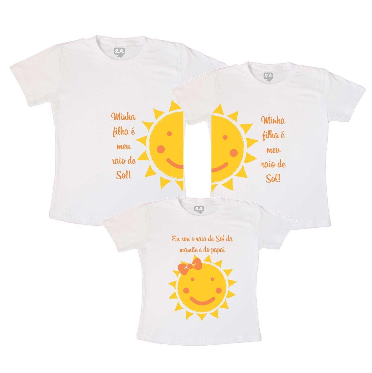 1def8e42b Kit Personalizado composto por três camisetas