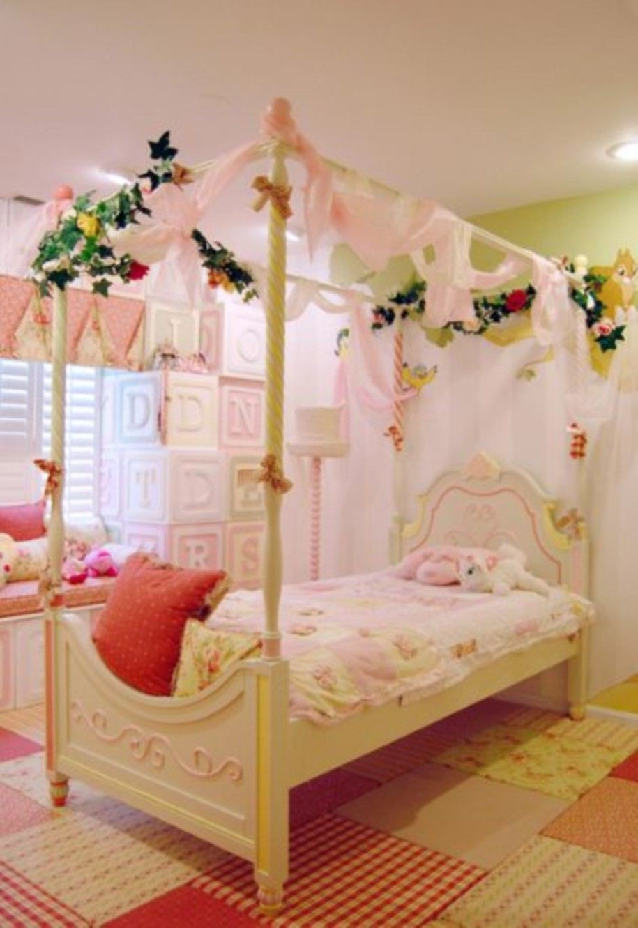 15 awesome kids room designs in whimsical style lovely for Fancy girl bedroom ideas