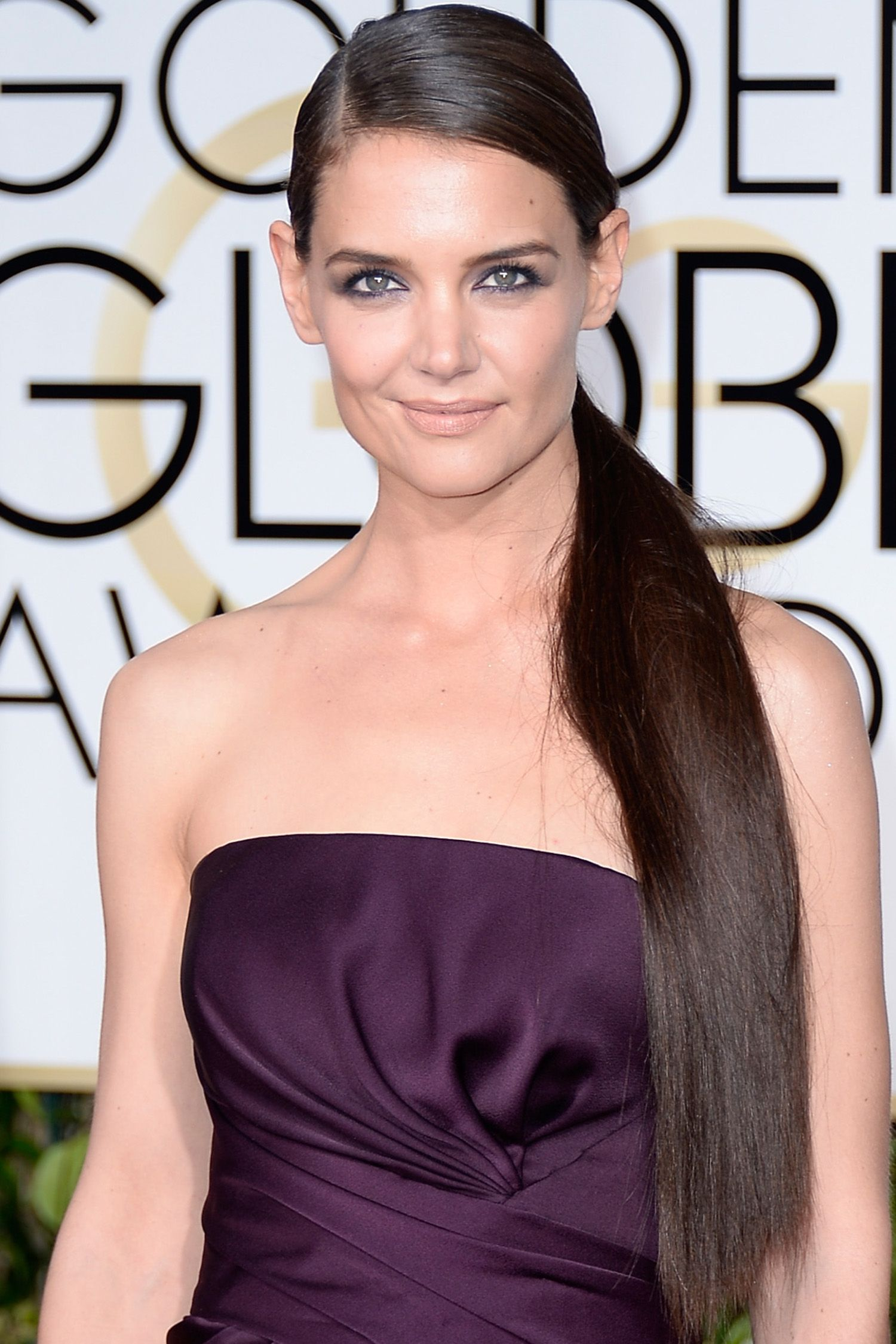 the best new hair colors for spring katie holmes brunette color
