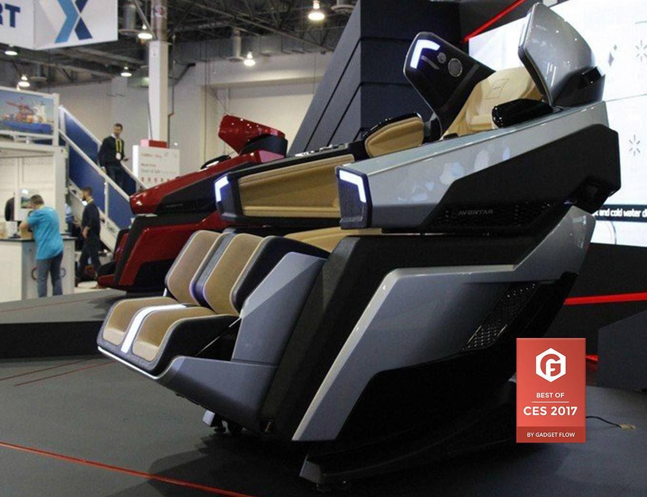Bodyfriend Futuristic Massage Chair Sports cars luxury