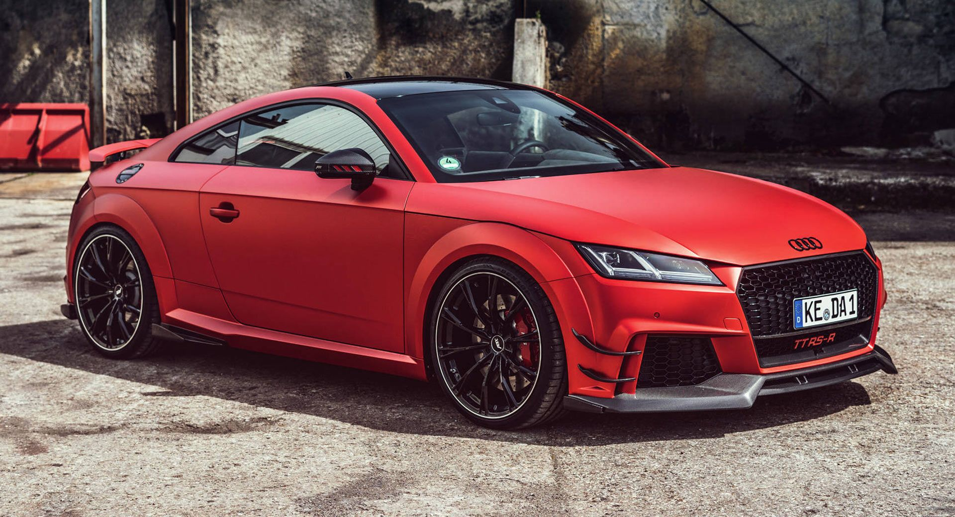 ABT Revamps Audi TT RS With Minor Performance And Visual Tweaks   Carscoops