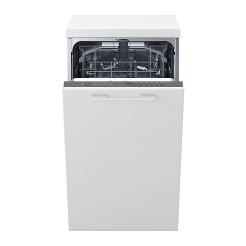 Medelstor Grey Integrated Dishwasher Ikea Lave Vaisselle Encastrable Lave Vaisselle Ikea