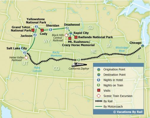 Yellowstone National Park Karte.Image Result For Yellowstone To Mt Rushmore Sights Map