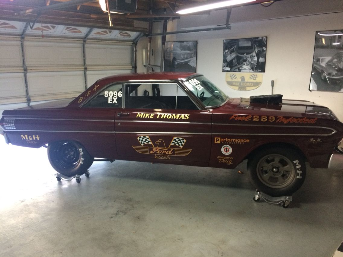 1961 ford falcon for sale racingjunk classifieds - 1964 Ford Falcon Bfx Hilborn Injected