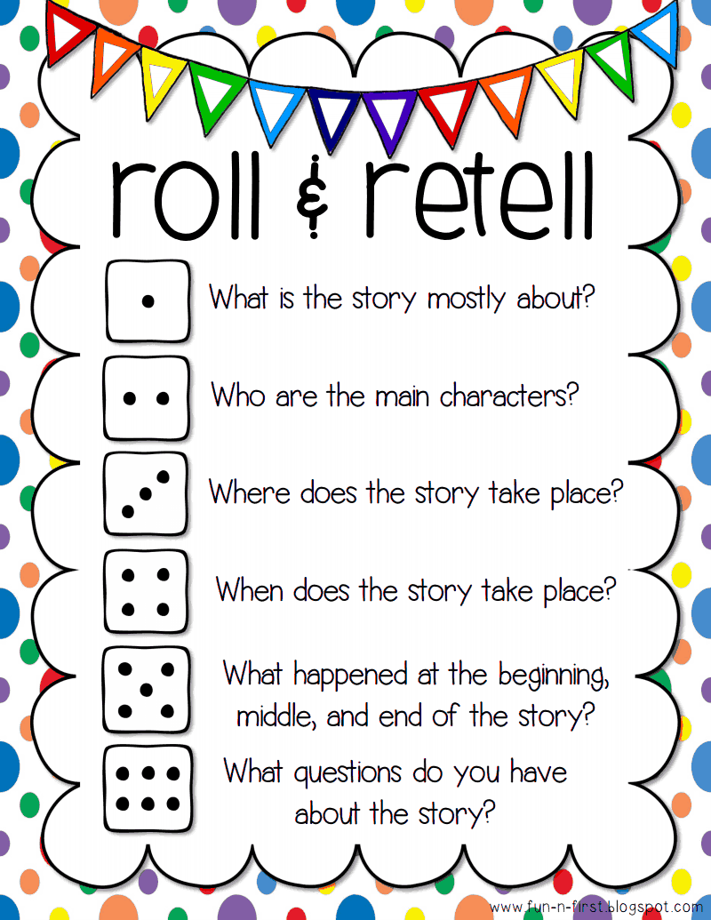 roll and retell pdf - Google Drive  We could roll the dice