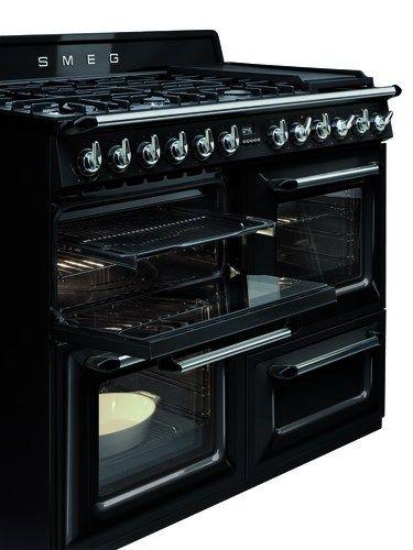 Fornuis Victoria van Smeg 110 cm 3 ovens