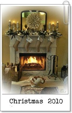 Hung by the chimney with care.   :)