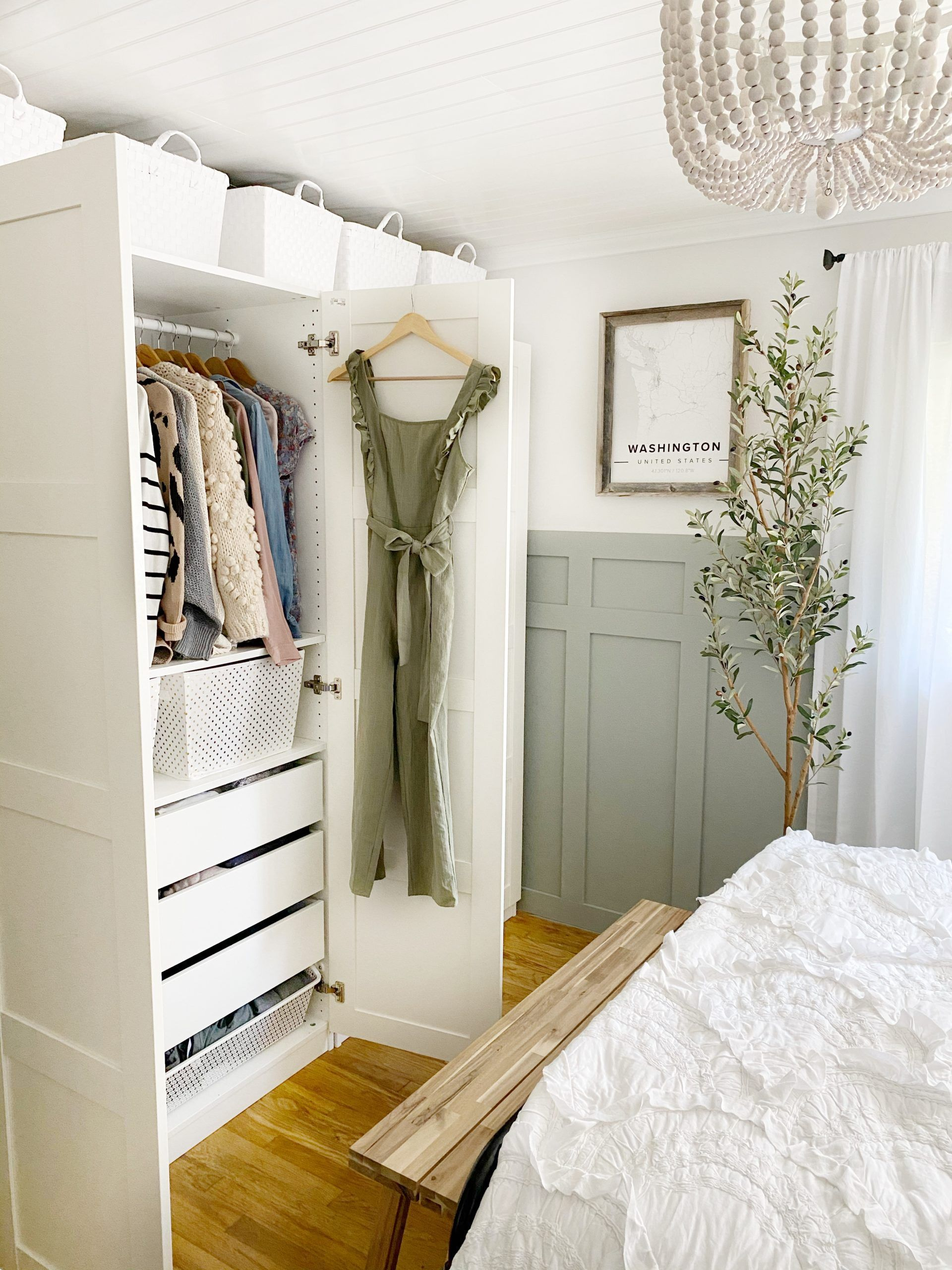 How To Organize A Bedroom Closet All Ages Closet Bedroom Organization Bedroom Ikea Pax Wardrobe