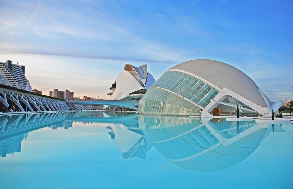 Valencia Blue Cool Places To Visit Places In Spain Spain