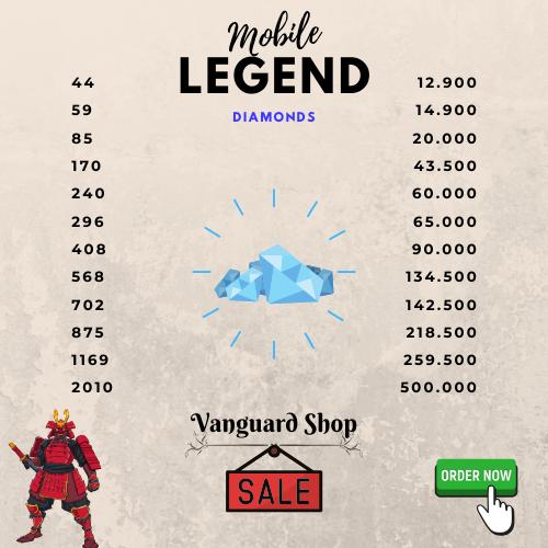 Mobile Legend Diamonds Indonesia in 2020 Mobile legends