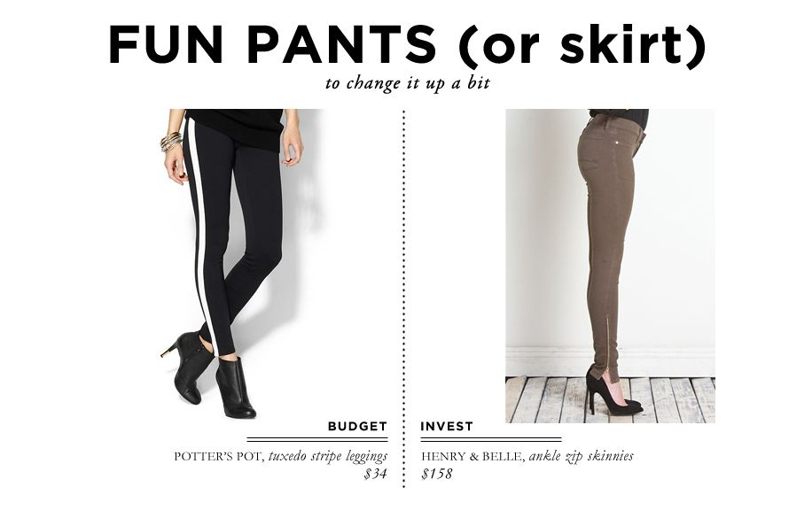 What to Bring on a Weeklong Trip to Europe // Fun pants or skirt