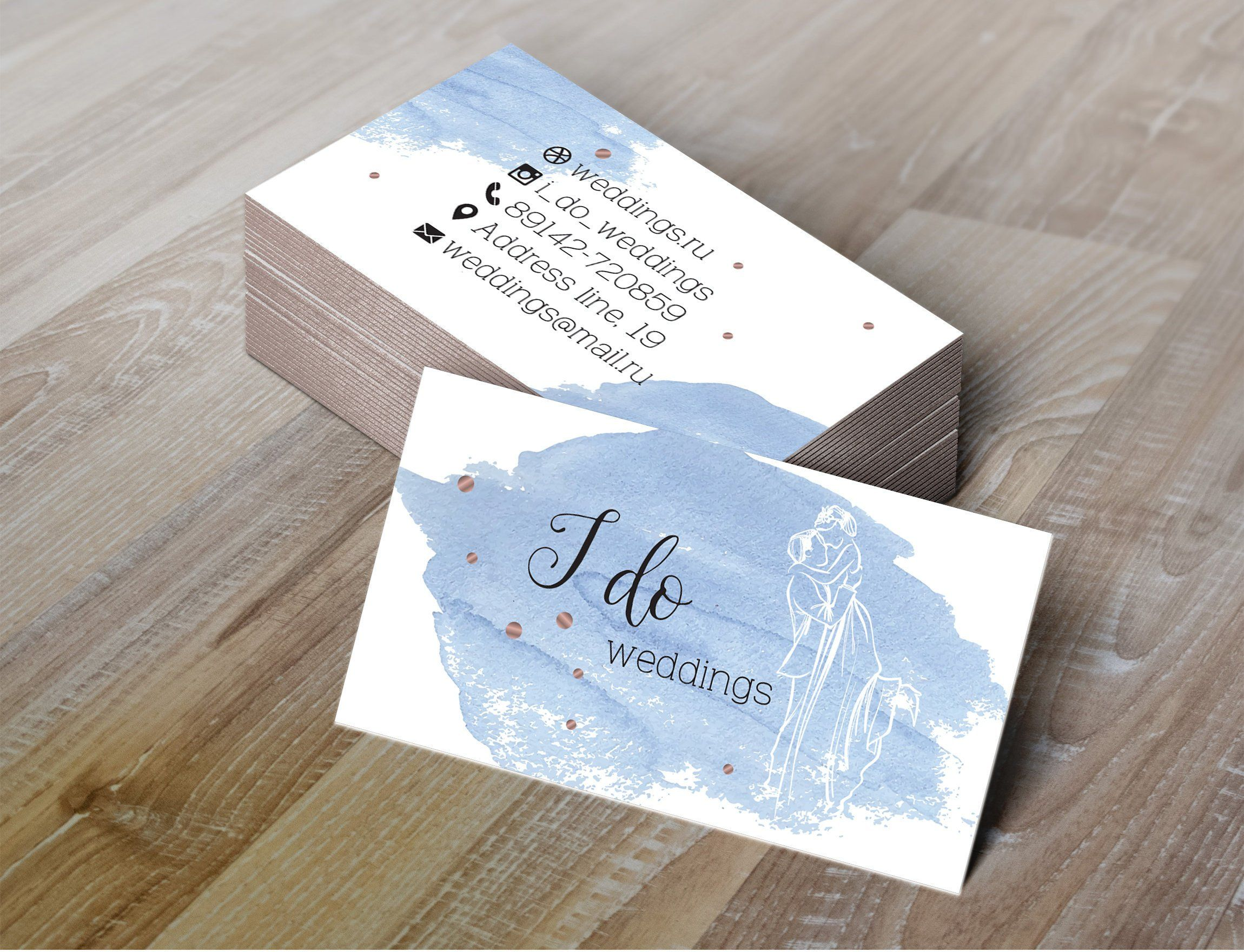 Event Planner Business Card Wedding Business Card Business Card