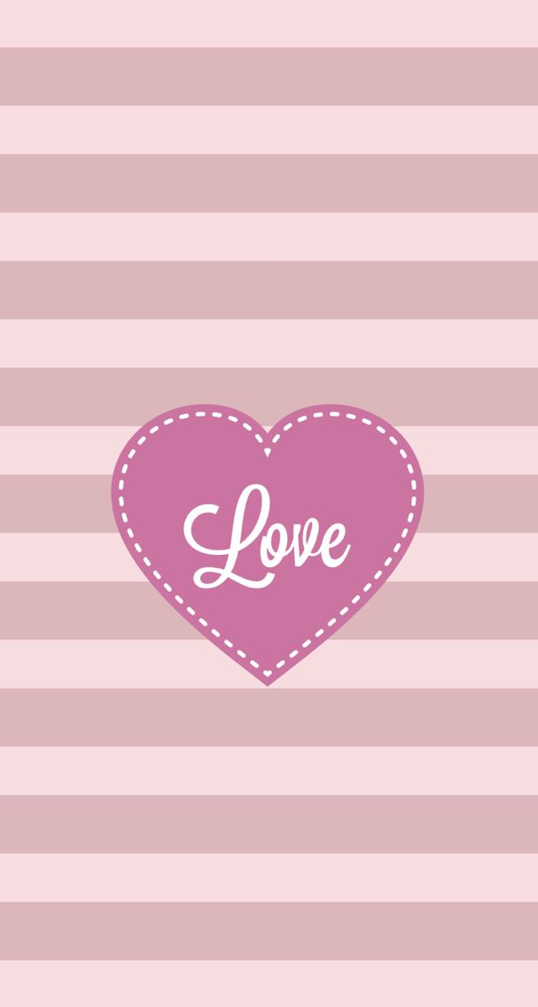 Iphone 5 Wallpaper Love Pink Stripes Pink Wallpaper Iphone Love Pink Wallpaper Heart Wallpaper Love pink wallpaper for iphone