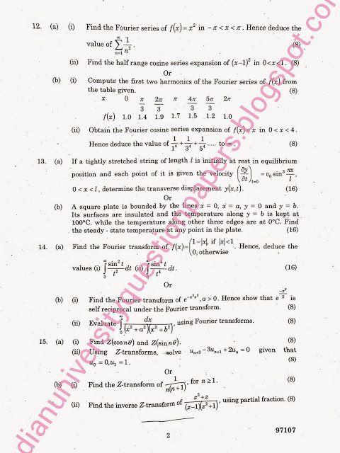 Transforms and Partial Differential Equations MA 6351 Anna - joke divorce papers