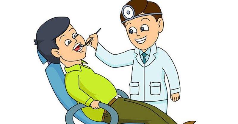 المريض جدا ذهب رجل متزوج إلى طبيب أسنان وكان يشكو من الم كبير في أحد أضراسه عالجه الطبيب وقام بتعقيم الماكنات بشكل Dental Kids Pediatric Dentist Kids Dentist