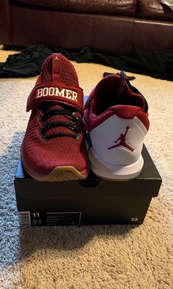 Nike Jordan trainer 3 OU Oklahoma