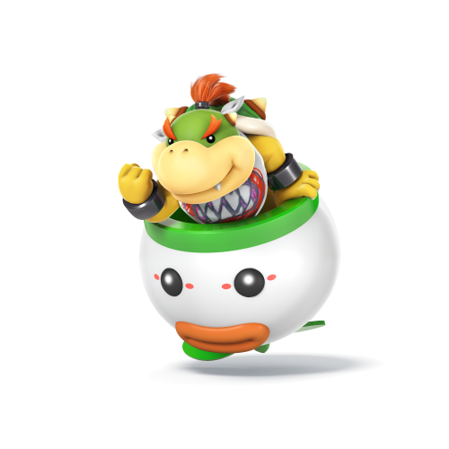 Bowser Jr From Super Mario Smash Bros Wii Super Mario
