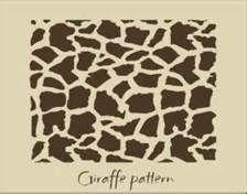 giraffe pattern stencil - Bing Images