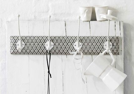 wohnideen f r den flur do it yourself. Black Bedroom Furniture Sets. Home Design Ideas