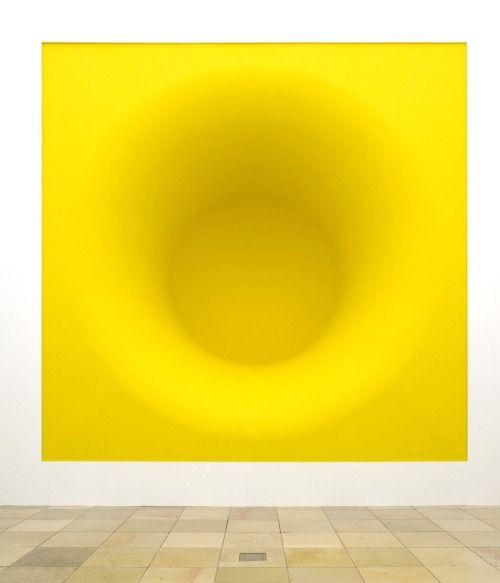 Anish Kapoor.Yellow, pigment and fibreglassUntitled, stainless...