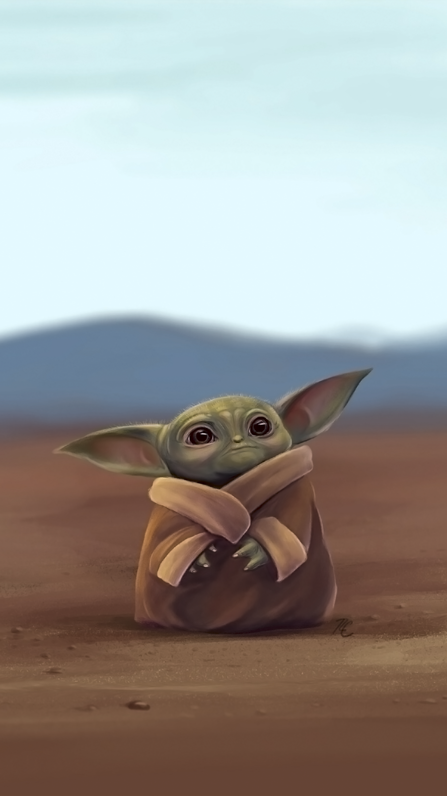 The Child Baby Yoda Phone Wallpaper Collection Cool Wallpapers Heroscreen Cc Yoda Wallpaper Yoda Art Star Wars Wallpaper