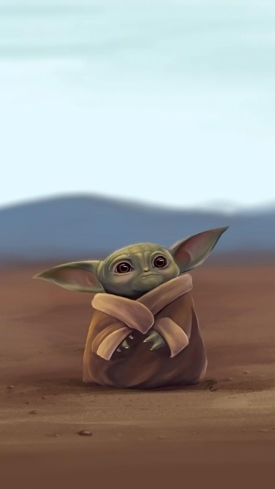 The Child Baby Yoda Phone Wallpaper Collection Cool Wallpapers Heroscreen Cc Yoda Wallpaper Yoda Art Star Wars Art