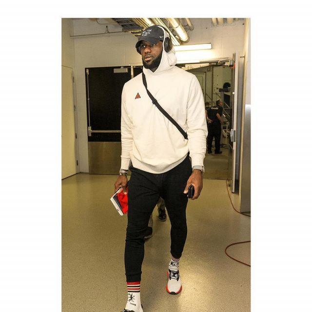 nike ACG worn by LeBron James