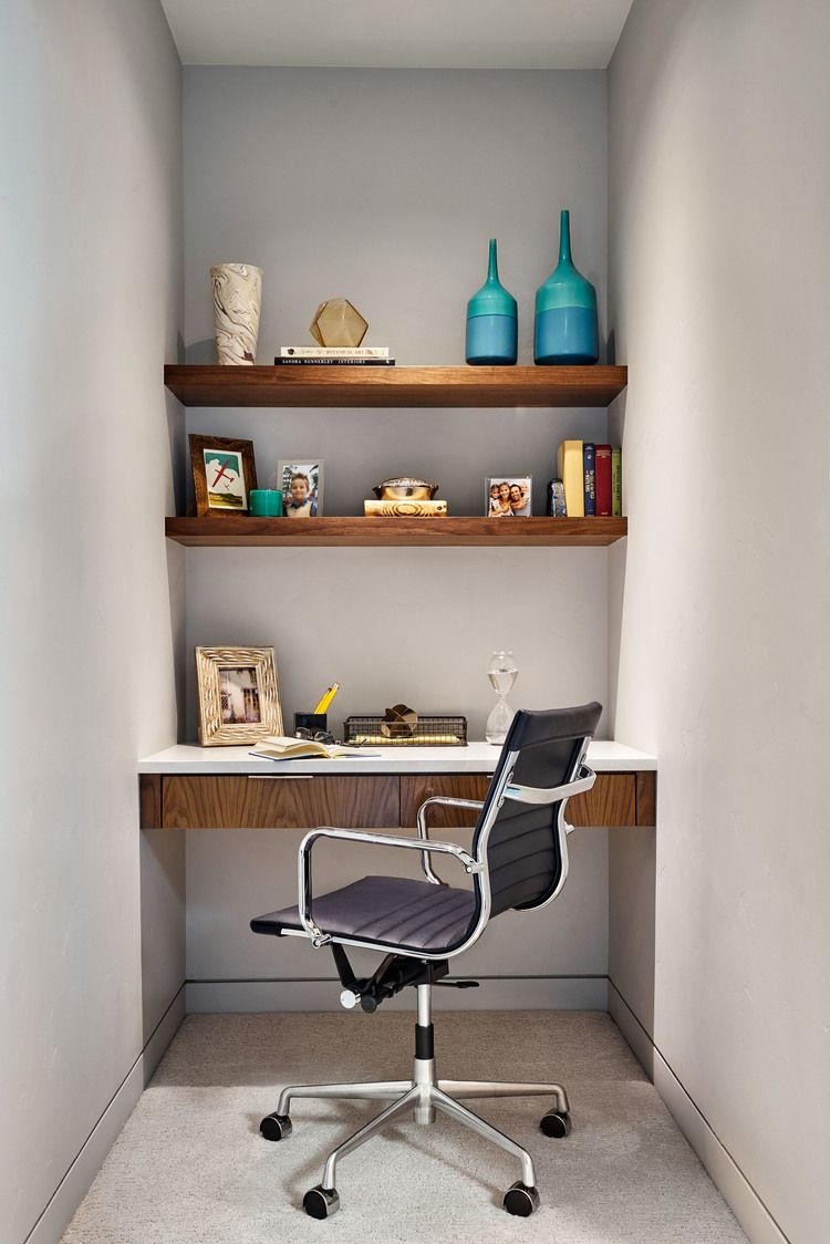Custom Built In Desks Small Home Offices Interior Home