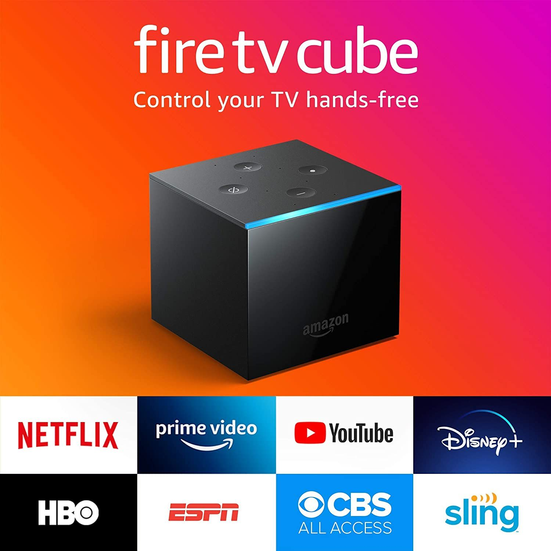 Certified Refurbished Fire TV Cube, handsfree with Alexa