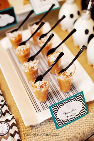 Elegant Halloween Party Dessert Table - Kara\u0027s Party Ideas - The - halloween dessert ideas