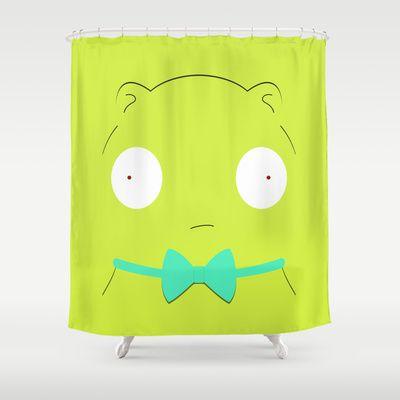 Bob S Burgers Kuchi Kopi Shower Curtain By Transitoryspace