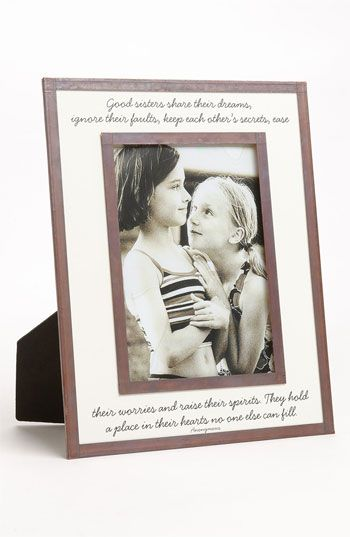 Ben\'s Garden \'Good Sisters\' 5x7 Picture Frame available at ...