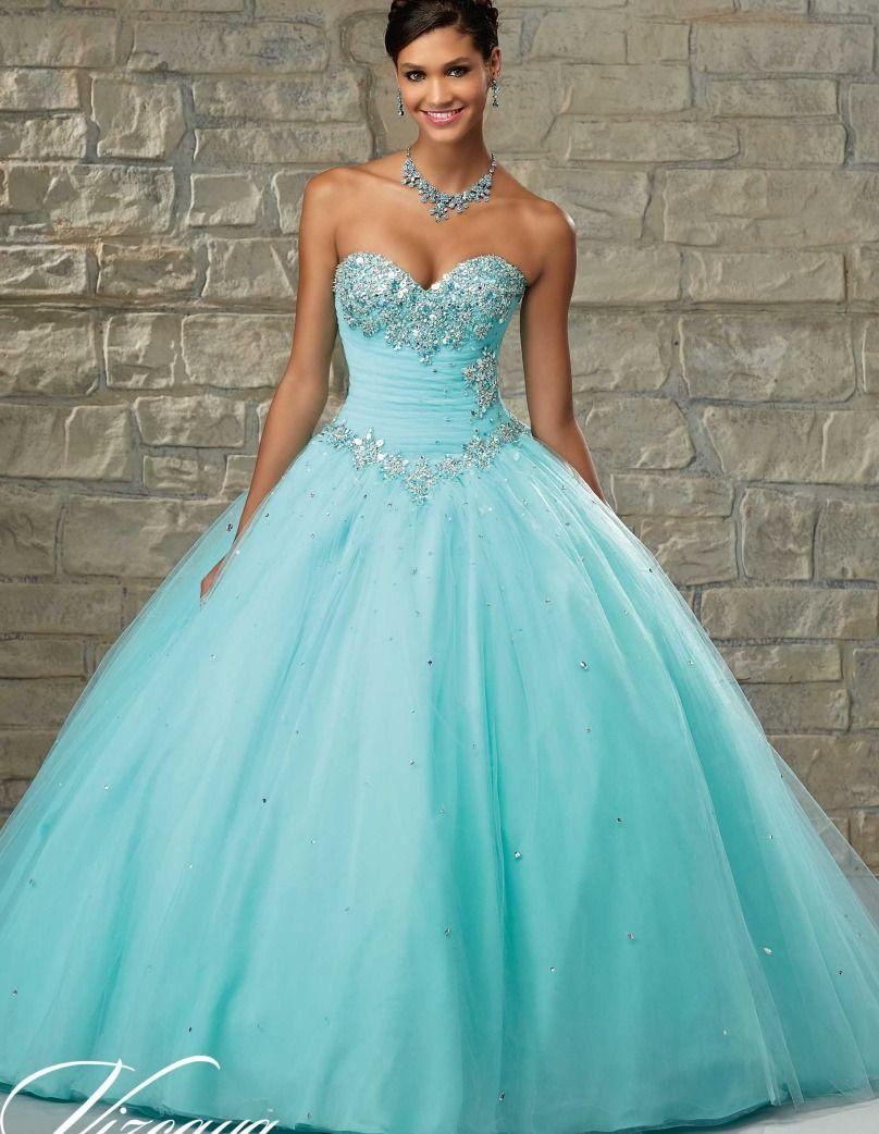 2016 Cheap Quinceanera Gowns Debutante Sweet 16 Princess Dresses ...