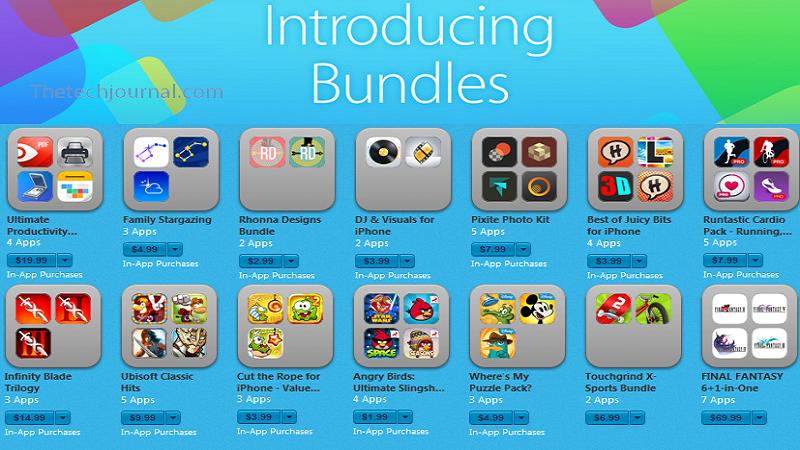 Get Discount Apple Introduces 'App Bundles' On App Store