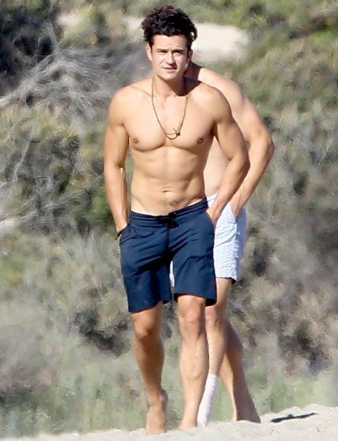 This Pic Of Orlando Blooms Hot Bod Will Make You Sweat -9786