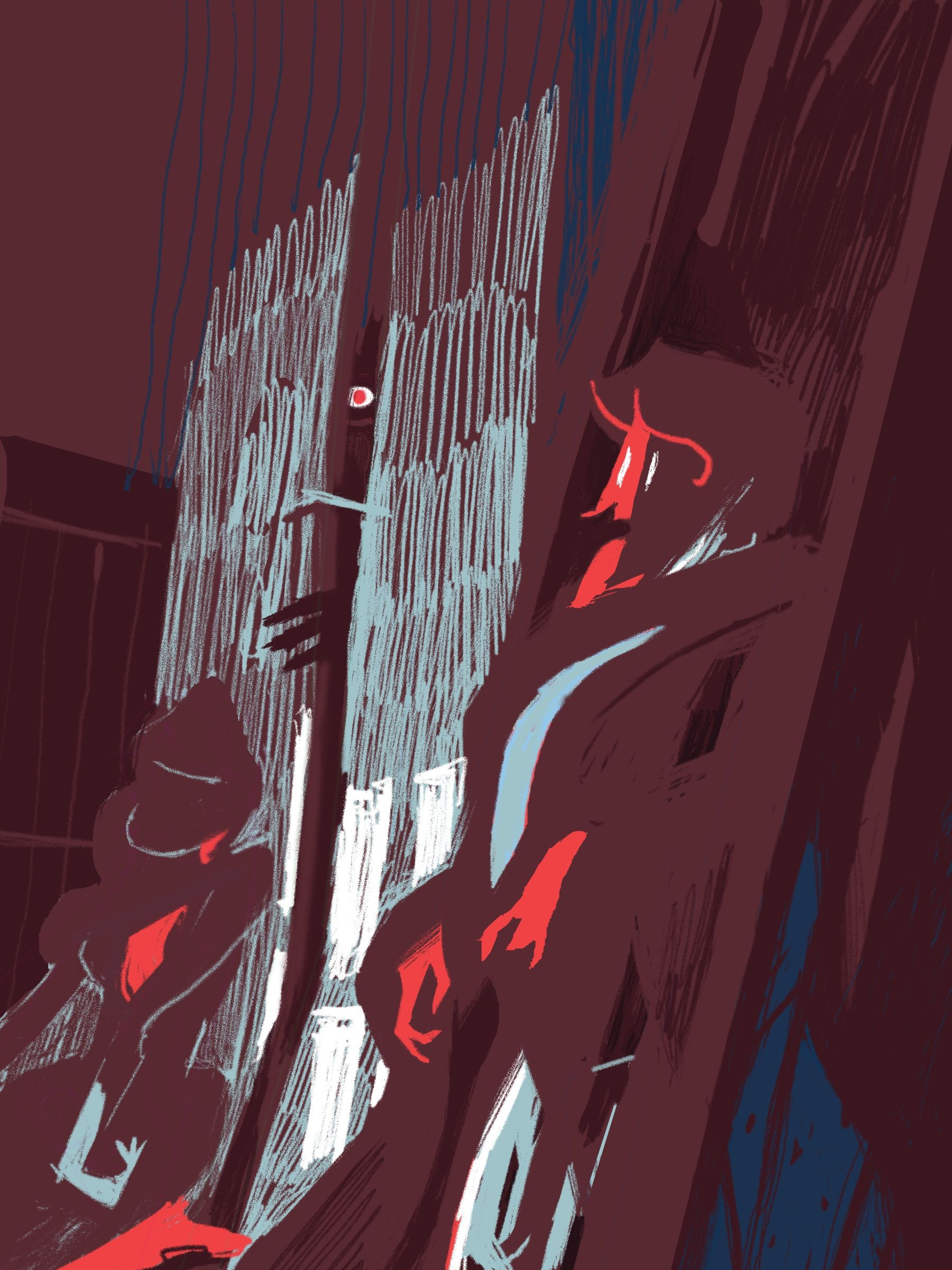 """Une illustration du roman de Dostoïevski """"Crime et"""