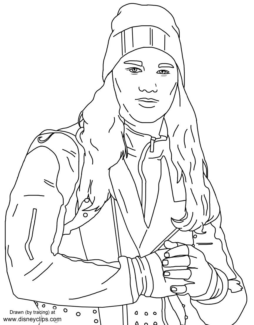 Descendants Coloring Descendants Coloring Pages Disney Princess Coloring Pages Toy Story Coloring Pages