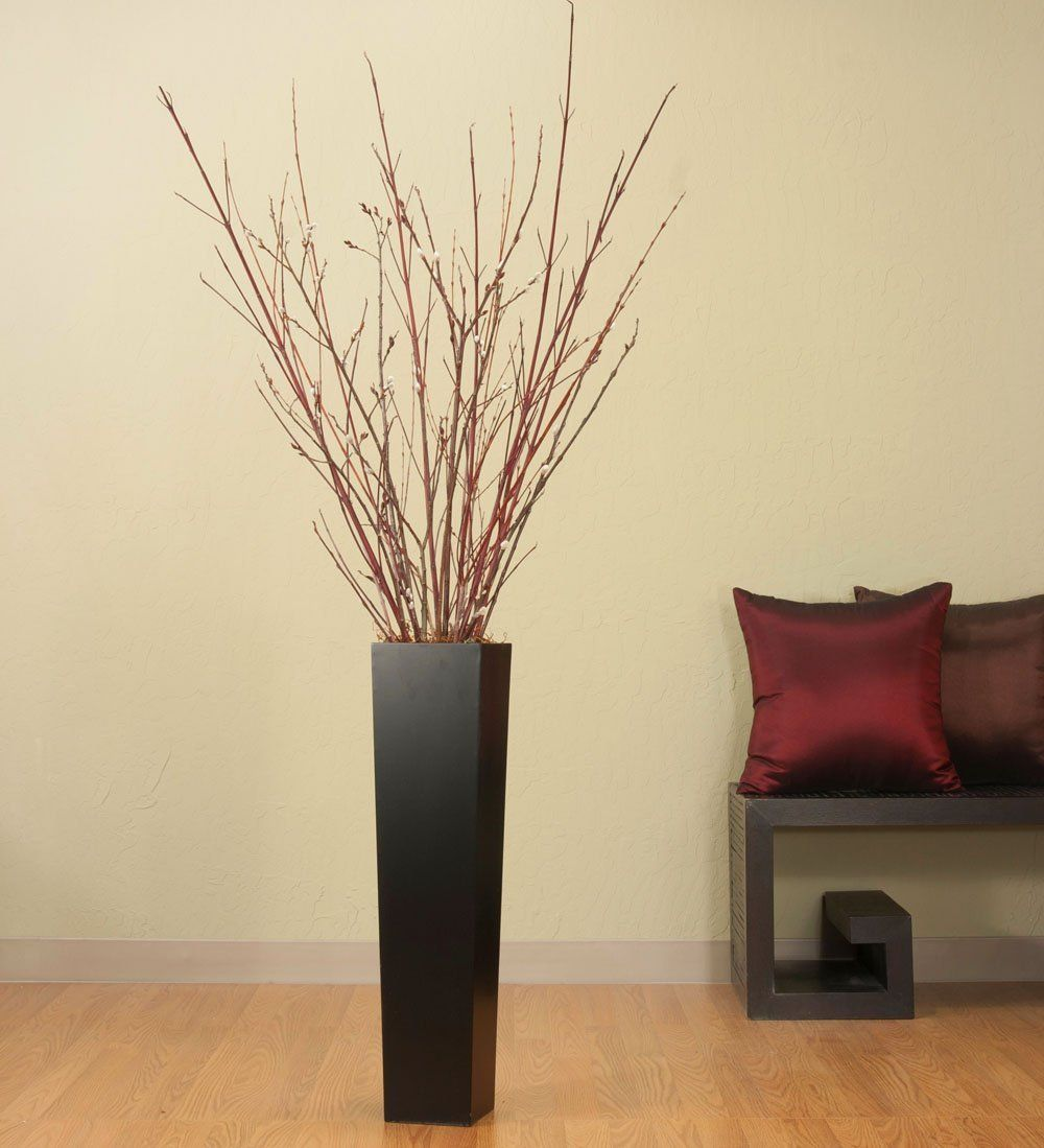 red sticks in a vase! | Wedding | Pinterest | Vases decor, Foyers ...