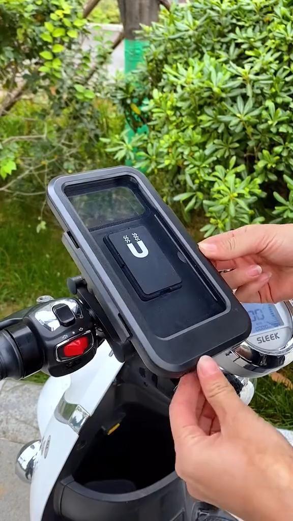 Bicycle Handle Waterproof Phone Holder